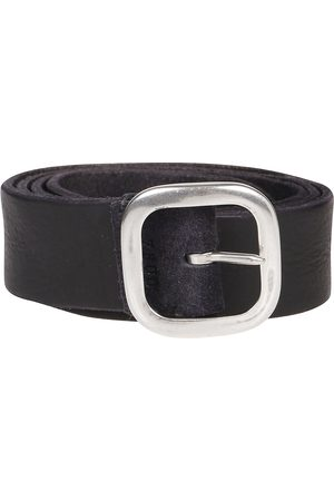 Orciani Men Belts - MEN'S U07800GREY SUEDE BELT