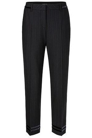 Marc Cain Collections Pinstriped Trousers PC 81.29 W31