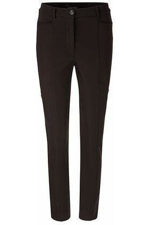 Marc Cain Collections Stretchy Trousers in Dark Moro PC 81.08 W14