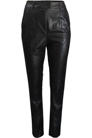 MARELLA Women Leather Pants - Cabaret Faux Leather Trousers