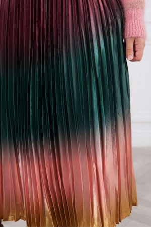 Derhy Phenomene Sunray Pleat Skirt