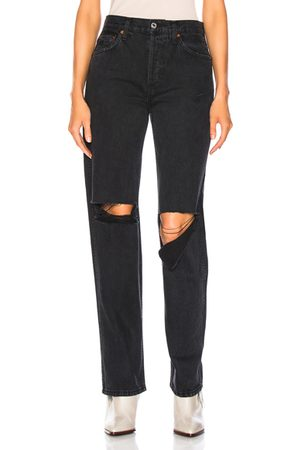 RE/DONE ORIGINALS High Rise Loose in Washed