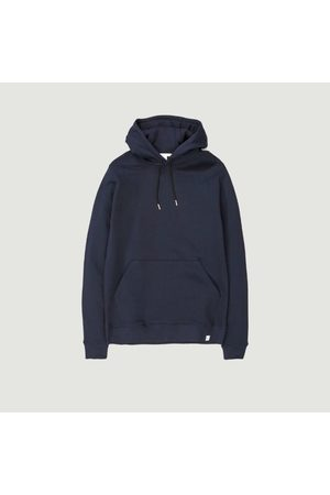 Norse projects Men Hoodies - Cotton Hoodie VAGN Classic DARK NAVY