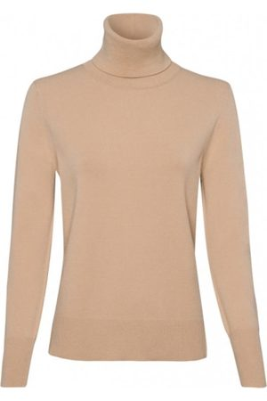 Riani Long Sleeved Camel Polo Necked Jumper 807620/7673