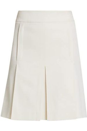 AKRIS Inverted Pleat Skirt