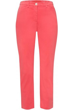 Women Chinos - OUTLET Riani Stretch Slim Chino Colour: Coral