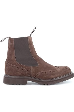 TRICKERS Men Ankle Boots - HENRY SUEDE VLT