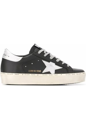 Golden Goose WOMEN'S GWF00118F00032890179 LEATHER SNEAKERS