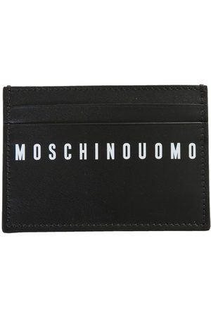 Moschino MEN'S A810580012555 LEATHER CARD HOLDER
