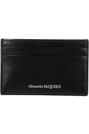 Alexander McQueen MEN'S 6021441XI0Y1000 LEATHER CARD HOLDER