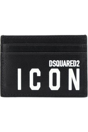 Dsquared2 MEN'S CCM000512903205M063 LEATHER CARD HOLDER