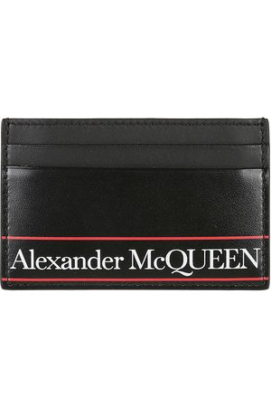 Alexander McQueen MEN'S 6021441SJ2B1092 LEATHER CARD HOLDER