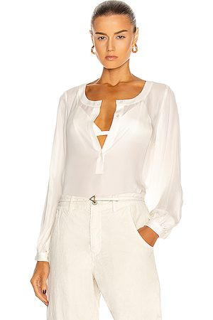 NILI LOTAN Kelly Top in Ivory