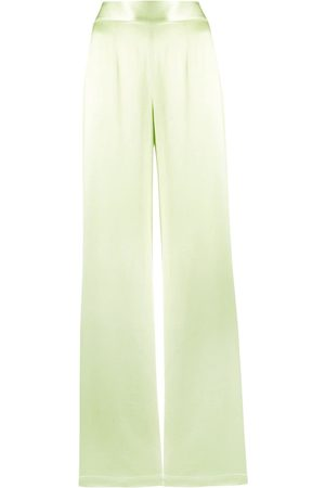 GALVAN High-waisted wide-leg trousers