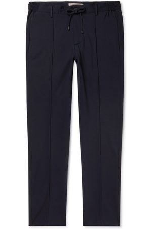 CONNOLLY Tapered Stretch-Jersey Drawstring Trousers