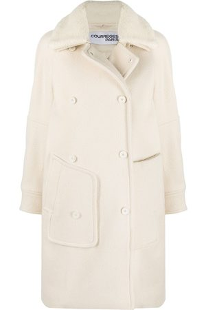 Courrèges Detachable-collar coat