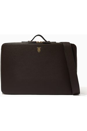 MONTROI Working Station Briefcase in Leather