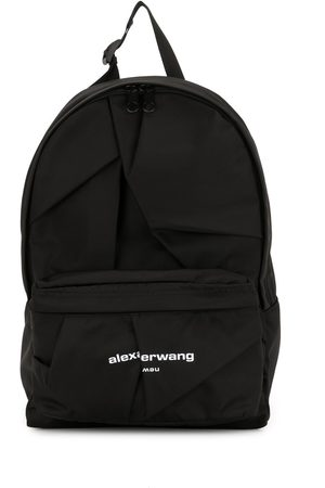 Alexander Wang Logo embroidered backpack