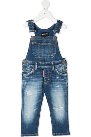 Dsquared2 Faded dungarees