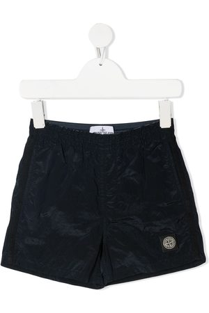 Stone Island Logo-patch running shorts