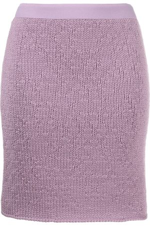 Bottega Veneta Women Skirts - Knitted cashmere skirt