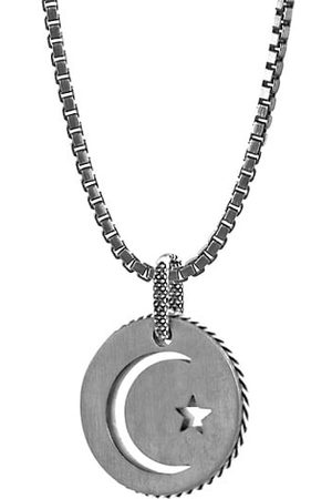 Tateossian Talismans Stainless Steel Pendant Necklace