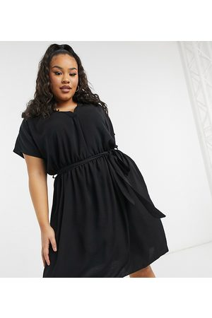 New Look New Look Curve belted dress in