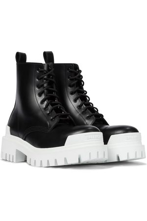 Balenciaga Strike leather ankle boots