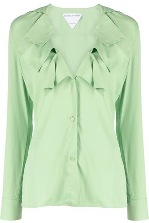 Bottega Veneta Ruffle collar blouse