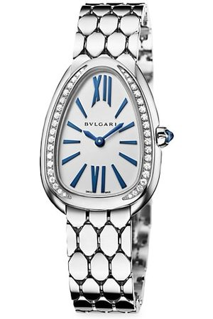 Bvlgari Serpenti Seduttori 18K & Diamond Bracelet Watch
