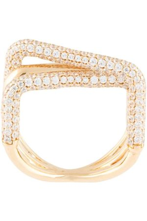 APM Monaco Crystal-embellished ring