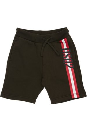 Dsquared2 Printed Cotton Sweat Shorts