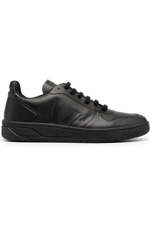 Veja Logo-patch low-top sneakers