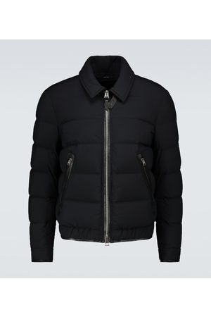 Tom Ford Down-filled blouson jacket