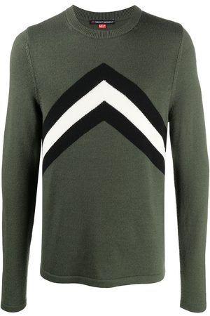Perfect Moment Chevron stripe knitted jumper
