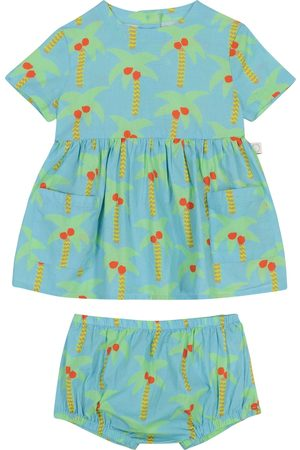 Stella McCartney Baby printed dress and bloomers set