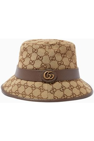 Gucci Women Hats - GG Fedora in Canvas