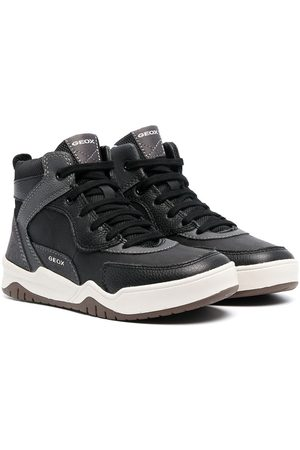 Geox High-top lace-up sneakers