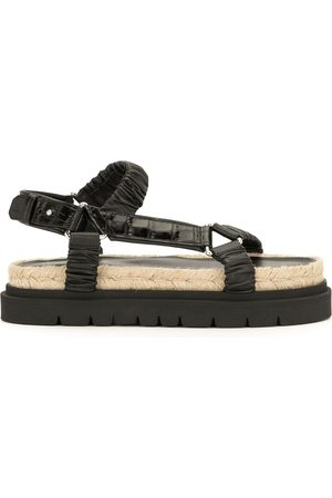 3.1 Phillip Lim Ruched platform sandals