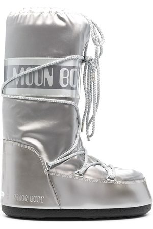 Moon Boot Men Snow Boots - Icon satin snow boots