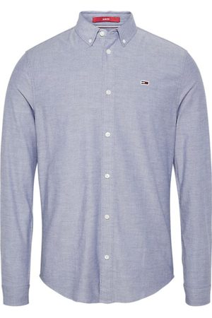 Tommy Jeans Men Jeans - Slim stretch oxford shirt, Colour: NAVY