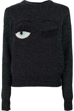 Chiara Ferragni LOGO EMBROIDERED JUMPER