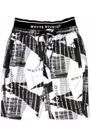 """Whyte Studio THE REFLECTIVE """"TRACT"""" HIGH-WAISTED BIKER SHORT"""
