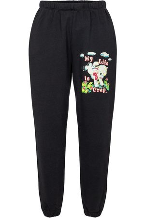 Marc Jacobs X Magda Archer cotton jersey trackpants