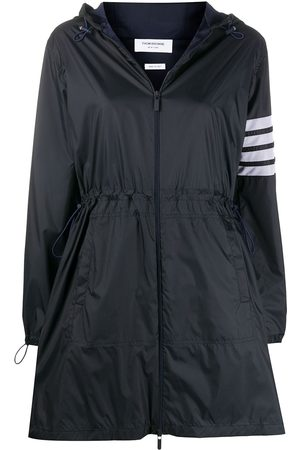 Thom Browne 4-bar hooded jacket