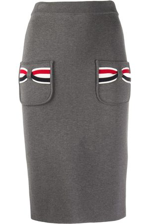Thom Browne Women Pencil Skirts - Knitted pencil skirt