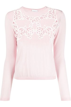 Giambattista Valli Embroidered knit jumper