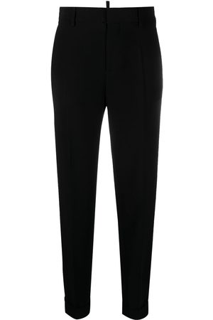 Dsquared2 Tapered cropped trousers