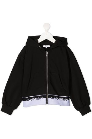 Givenchy Logo-tape detail hoodie