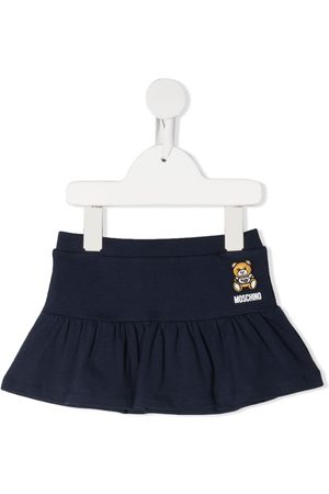 Moschino Ruffle hem mini skirt